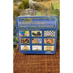 Sealed Classic Family Board Game Bundle